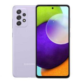 Samsung Galaxy A52 Dual SIM Smartphone, 128GB 8GB RAM LTE - Violet