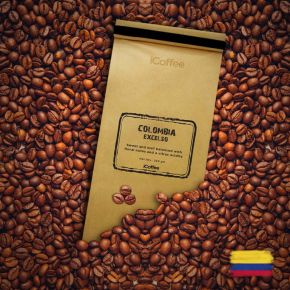 Columbia Excelso Single Origin Coffee Beans, 250 Grams