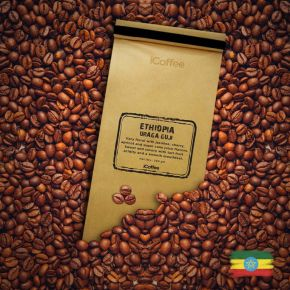 Ethiopia Uraga Guji Single Origin Coffee Beans, 250 Grams