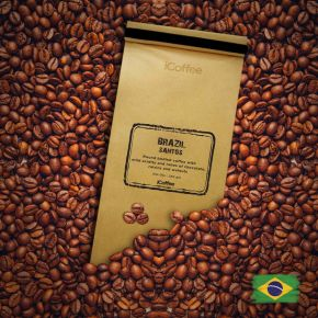 Brazil Pedro Bonita Natural Single Origin Coffee Beans, 250 grams