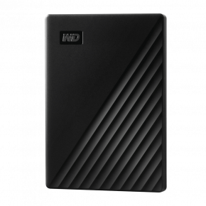 WD 1TB My Passport Slim, USB 3.0 Hard Drive - Black