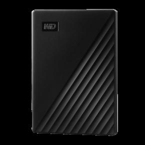 WD 5TB My Passport 5TB Slim USB 3.0 Hard Drive  - Black