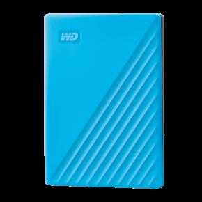 WD 4TB My Passport Slim USB 3.0 Hard Drive -  Blue