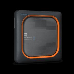 WD 1TB MY PASSPORT WIRELESS SSD  GRAY EMEA