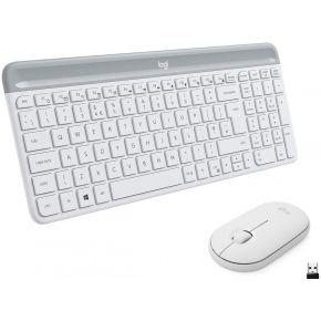 Logitech MK470 Wireless Keyboard and Mouse Combo Off-White English (920-009205 )