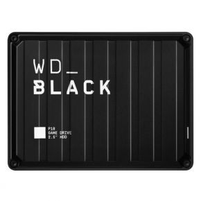 WD Black 5TB P10 Gaming Hard Drive, External Hard Drive Compatible with PS4, Xbox One, PC, Mac - (WDBA3A0050BBK-WESN)