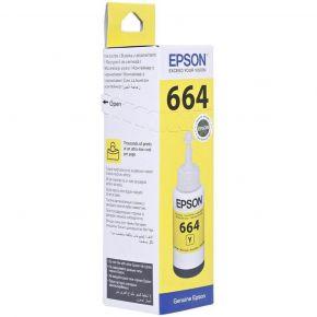 Epson T664 Yellow Ink Bottle