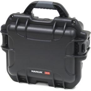 Nanuk 905 Hard Case with Foam Insert (Black)