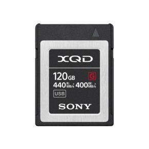 Sony XQDCard 120GB Read Speed440mbps