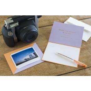 Fujifilm Instax Wide Message Card - BR X BL