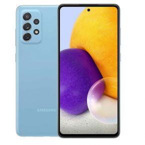 Samsung Galaxy-A72 Dual SIM Smartphone, 128GB 8GB RAM LTE  -  Awesome Blue
