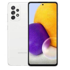 Samsung Galaxy-A72 Dual SIM Smartphone, 128GB 8GB RAM LTE  -  Awesome White