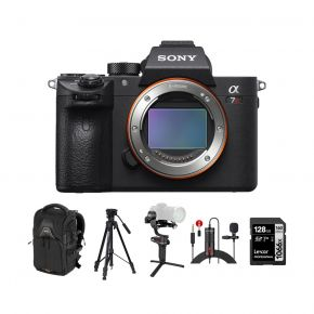 Sony A7R III Mirrorless Full Frame Camera Body Only With Accessories Kit