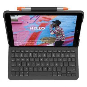 Logitech Slim Folio Keyboard Case for iPad (5th, 6th gen) - (920-009024)
