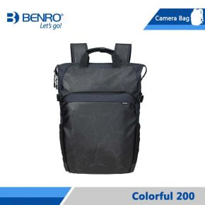 Benro Colorful 200 Backpack For Cameras (Black)