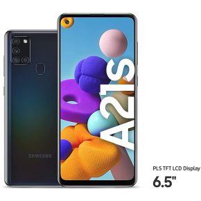 SAMSUNG A21s 4/64 GB Dual Sim 4G - Black