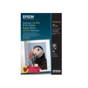 Epson C13S041624 A4 Premium Glossy P 50 sheet//255gsm/Premium Glossy Photo Paper