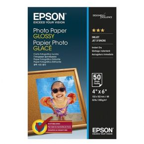 "Epson C13S042547 10 x 15 cm (4""x6"") 200 g/m² 50 Sheets Glossy Media/Photo Paper Paper"