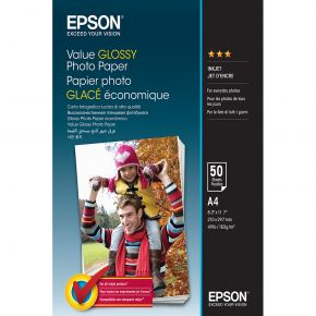Epson C13S400036 Value Glossy Photo Paper - A4 - 50 sheets 183gsm MEDIA