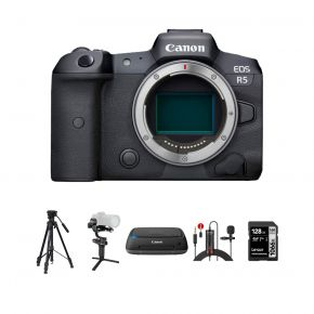 Canon EOS R5 Mirrorless Digital Camera Body Only With Accessories kit
