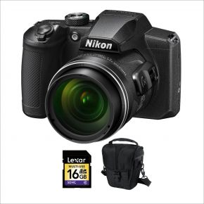 Nikon Coolpix B600 Camera with 16GB card and case