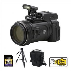 Nikon Coolpix P1000 CDSC Camera Bundle Offer with Memory card,Case and Tripod