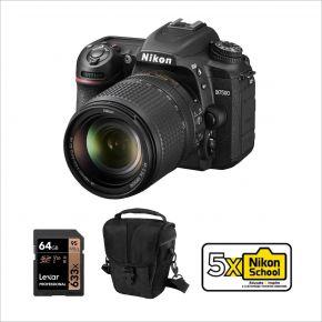 Nikon D7500 DSLR Camera with 18-140mm VR Lens Kit