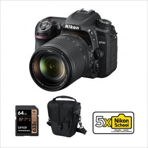 Nikon D7500 DSLR Camera with 18-140mm VR Lens And Accessories Kit