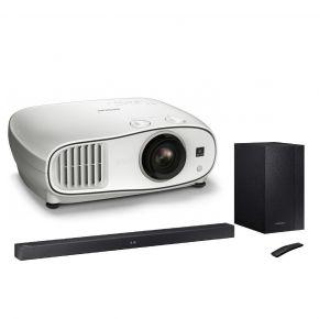 Epson EH-TW6700 Full HD Projector + Samsung WiFi Soundbar