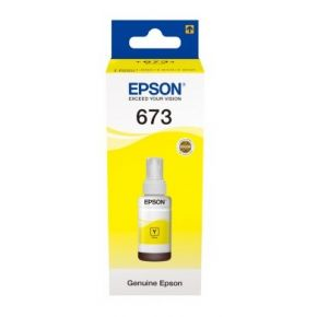 Epson T6734 Yellow Ink Bottle
