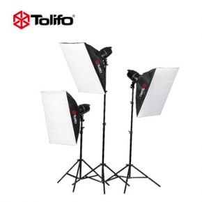 Tolifo EG-250B 250Watts Studio Light Kit