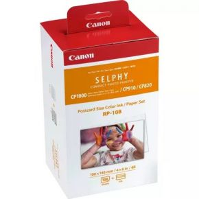 Canon RP 108 Colour Ink Paper