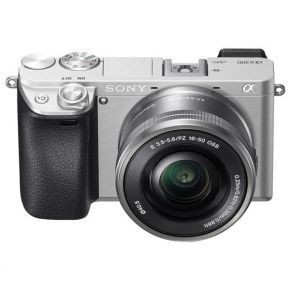 Sony A6400 Mirrorless Camera With 16-50mm F/3.5-5.6 Lens Kit (Silver)