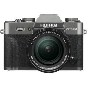 Fujifilm X-T30 Mirrorless Camera With 18-55MM (Charcoal Silver)