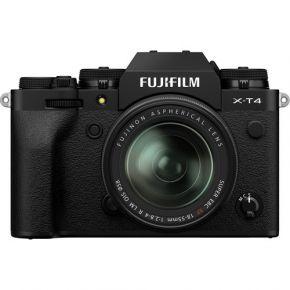 Fujifilm X-T4 XF 18-55mm Mirrorless Camera Kit Black