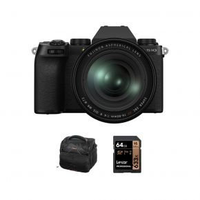 Fujifilm X-S10 Mirrorless Camera With XF16-80mm Lens And Accessories Kit