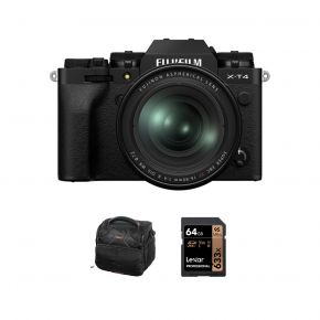 Fujifilm X-T4 Mirrorless Camera Body With XF 16-80mm F/4 Lens And Accessories Kit (Black)
