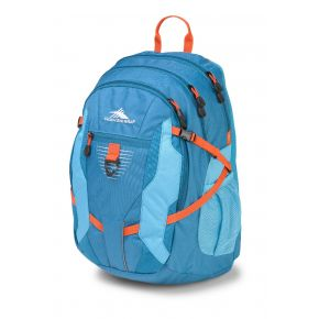 HIGH SIERRA HS AGGRO BACKPACK SEA/TROPIC TEAL/REDLINE