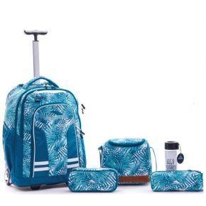 HIGH SIERRA HS BLAISE W BP SET (5 PCS)-PALMS/LAGOON/WHITE Backpack