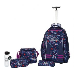 HIGH SIERRA HS BLAISE W BP SET (5 PCS)-TRIANGLE PARTY/T Backpack