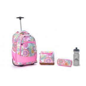 HIGH SIERRA HS CHASER SET (4 PCS) HENNA DRAGON/PINK LEMONADE Backpack