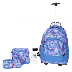 HIGH SIERRA HS CHASER SET (4 PCS)-SHINE BLUE/LAPIS/WHIT Backpack