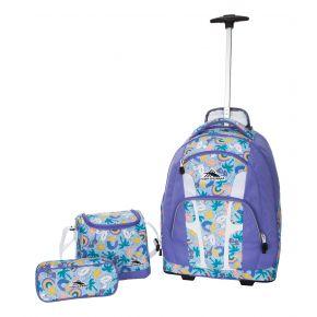 HIGH SIERRA HS COMPOSITE WBP SET (3 PCS)-POOL PARTY/LAV Backpack