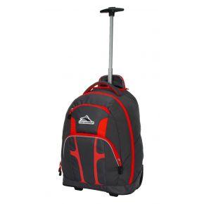 HIGH SIERRA HS COMPOSITE WHEELED BP MERCURY/RED LINE Backpack