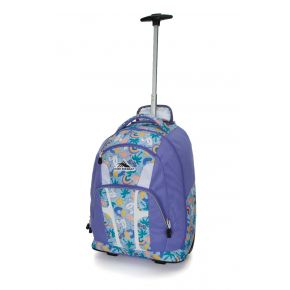 HIGH SIERRA HS COMPOSITE WHEELED BP POOL PARTY/LAVENDER/WHITE Backpack