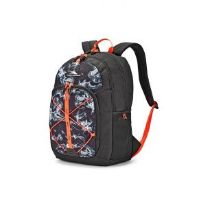 HIGH SIERRA HS DAIO BACKPACK BLACK STEAM/BLCK/ELECTR.ORANGE