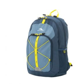HIGH SIERRA HS DAIO BACKPACK GRAPHITE BLUE/RUSTIC BLUE/GLOW