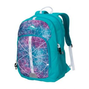 HIGH SIERRA HS DAIO BACKPACK SEQUIN FACETS/BLUEBIRD/WHITE