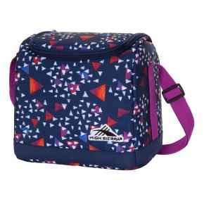 HIGH SIERRA HS ICON SLIM LUNCH BOX A TRIANGLE PARTY/TRU NAVY/HYACIN Backpack
