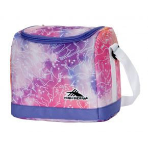 HIGH SIERRA HS ICON SLIM LUNCH BOX A UNICORN CLOUDS/LAVENDER/WHITE Backpack